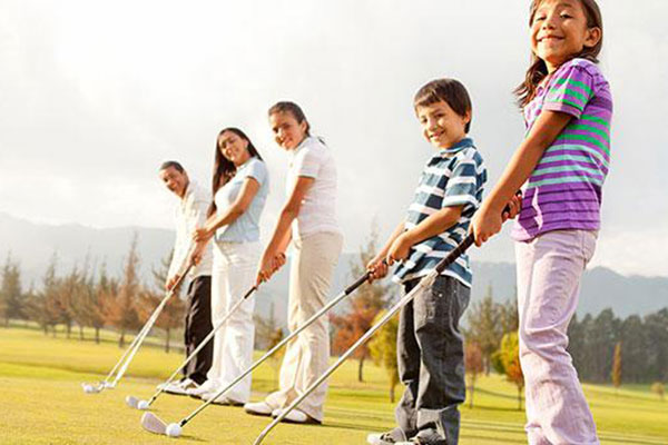 Children's Golf Lesson