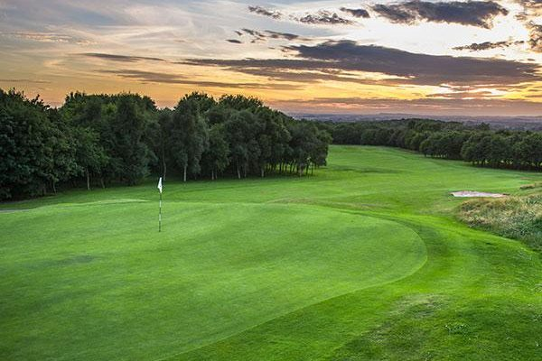 The Shropshire golf course evening