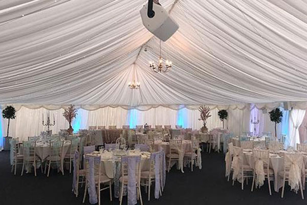 The Shropshire marquee