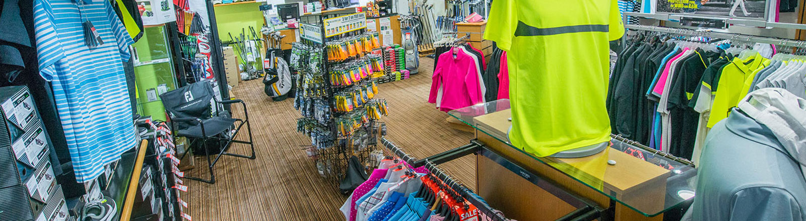 The Shropshire Golf Centre Shop